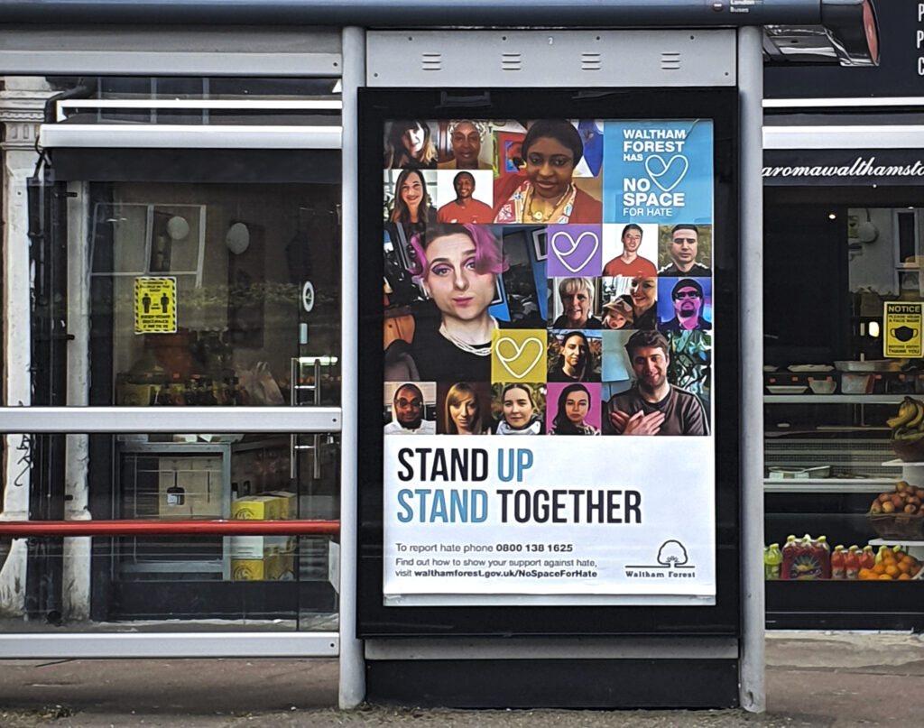 Anti-hate campaign in Waltham Forest, inspired by the assembly's recommendations